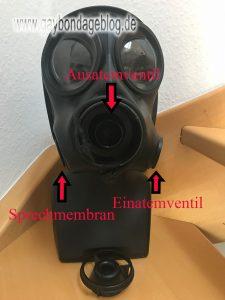 Übersicht S10 Gasmaske